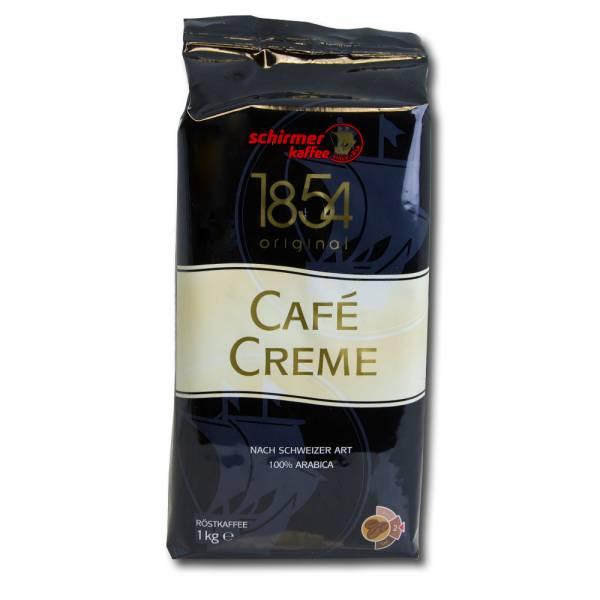 Schirmer Cafe Creme Selection - 1kg Kaffee in ganzen Bohnen