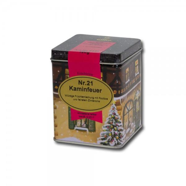 Eilles Kaminfeuer Früchte-Tee in der Weihnachtsdose