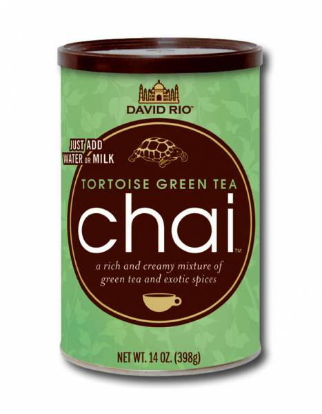 Tortoise Green Chai David Rio