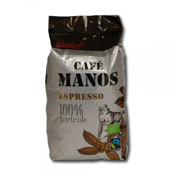 Westhoff Manos Espresso Fairtrade Bio