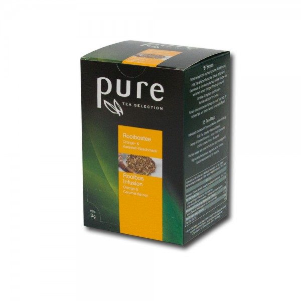 Pure Tee Rooibos Orange und Karamell