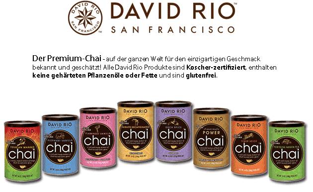 Das Original: David Rio Chai aus San Francisco!
