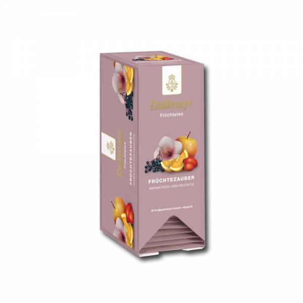 Früchtezauber Tee-Aufgussbeutel Dallmayr