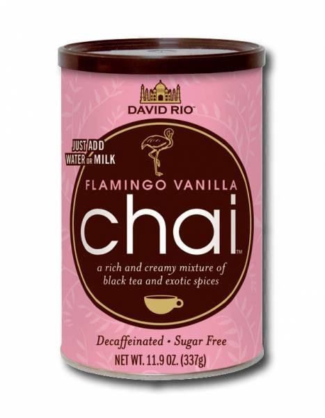Flamingo Vanilla zuckerfrei koffeinfrei Chai David Rio