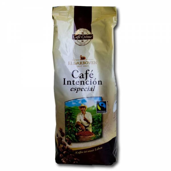 Darboven Cafe Intencion especial Fairtrade Kaffee 500g ganze Bohnen