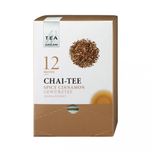 "Westhoff ""Tea-Dream"" Bio - Chai-Tee - Teerange im Pyramidenbeutel"