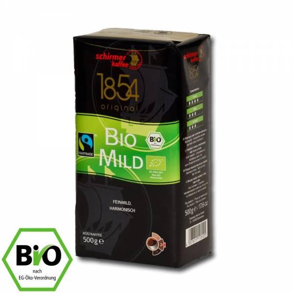 Schirmer Kaffee Bio mild - 500g gemahlener Fairtrade-Kaffee