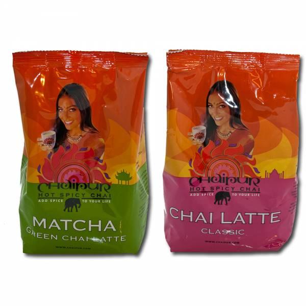 Chaipur - Mix: Chai Classic + Chai Matcha 2x500g Beutel