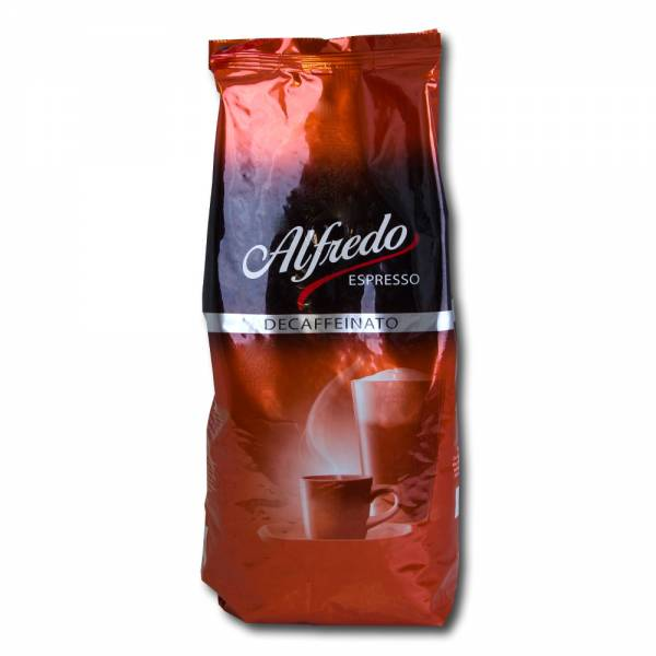 Alfredo Espresso Decaffeinato 1kg Kaffee