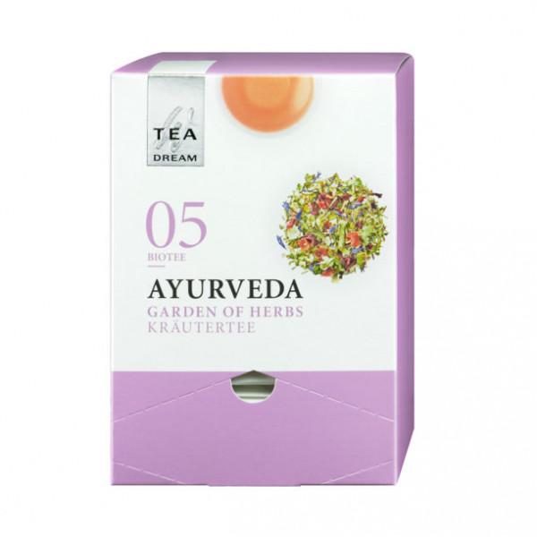 """Westhoff """"Tea-Dream"""" Bio - Ayurveda Kräutertee - Teerange im Pyramidenbeutel"""