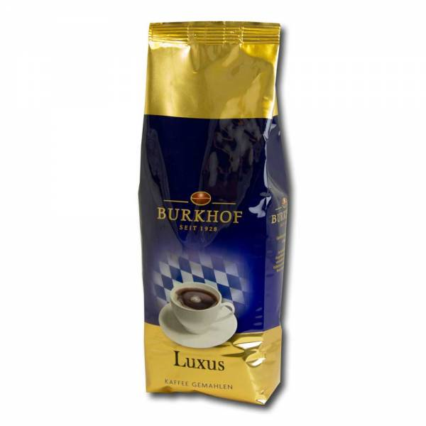 Burkhof Kaffee Luxus 500g - gemahlen