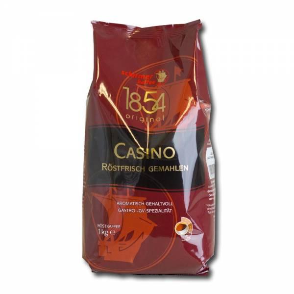 Schirmer Casino - 1kg Kaffee frisch gemahlen